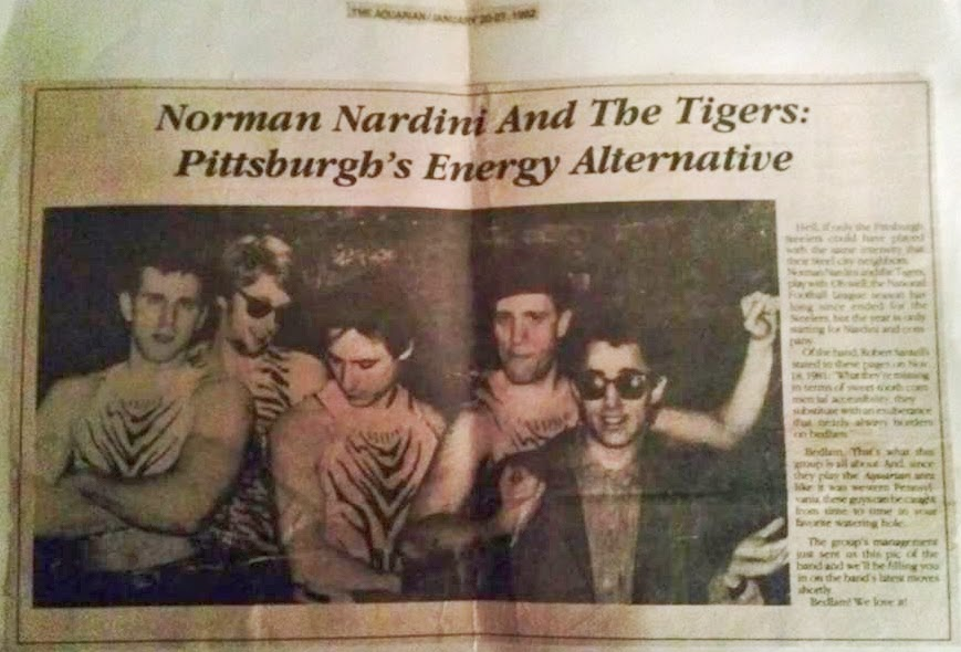 Norman Nardini and the Tigers from the Aquarian 1982