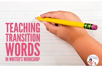 transition words in writer's workshop