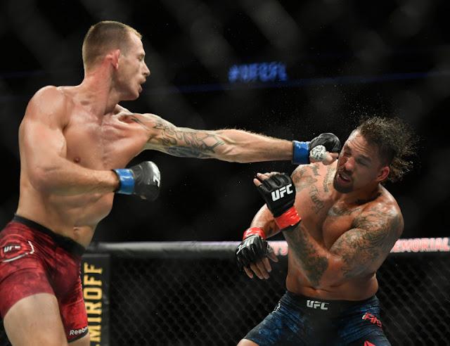 Krzysztof Jotko Batters Eryk Anders UFC On ESPN 8