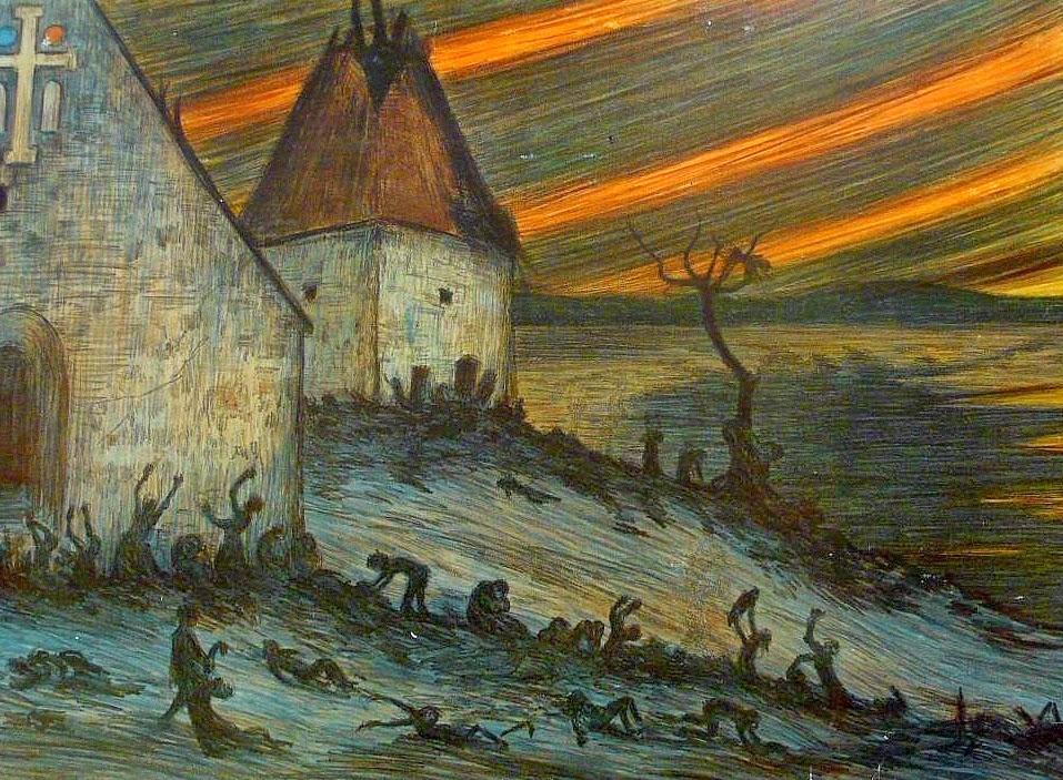 A Peste Negra na Finlândia - Hugo Simberg e seus simbolismos ~ O artista ansiava por solidão e paz