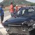 Irauçuba: Veículo de passeio colide em caminhão na BR-222
