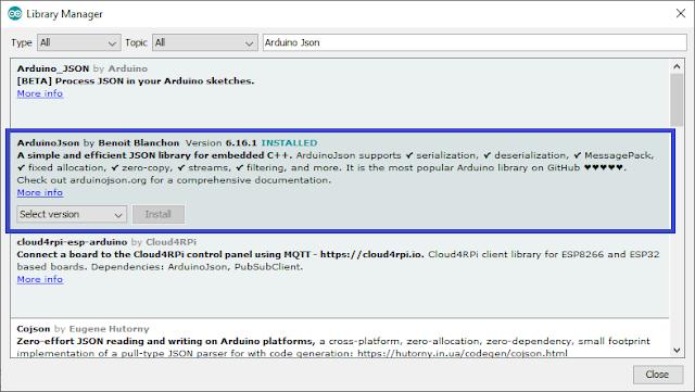 node mcu web API POST request