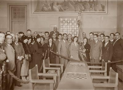 Socios del Club d'Escacs Barcelona en 1933