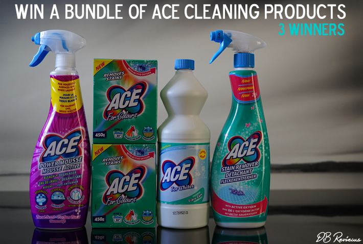 Win a bundle of ACE cleaning products