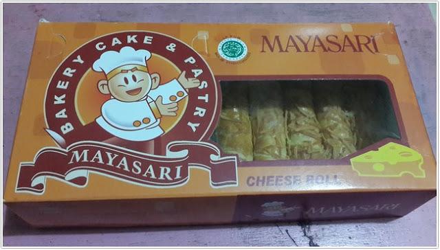 Cheese Roll Mayasari Bakery