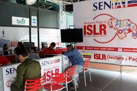 Seniat invita a realizar la declaración y el pago del Impuesto Sobre la Renta (ISLR) hasta el próximo 31 de marzo.
