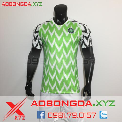 Áo Đội Tuyển Nigeria 2018-2019 Sân Nhà