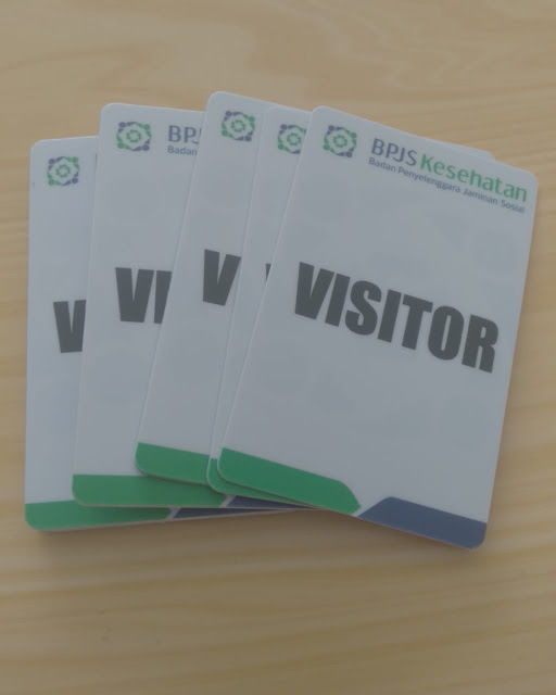 Id Card Visitor BPJS
