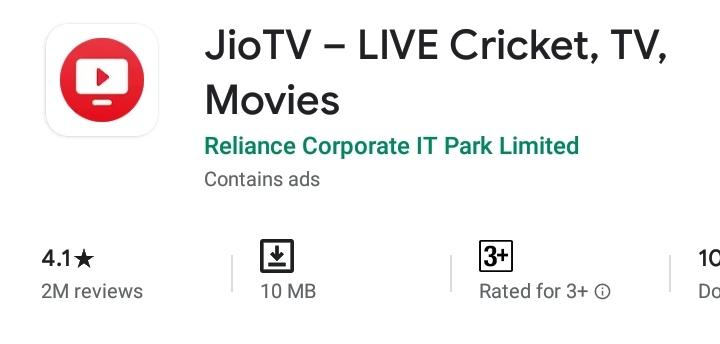 JioTV v5.9.4 (Without JioSim) Premium Mod Apk Download By Rmods65