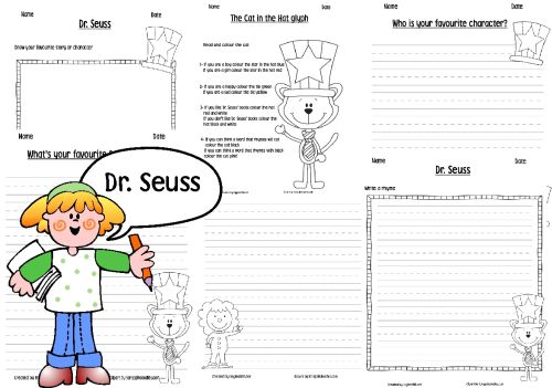 Simply Centers: Free Dr Seuss worksheets pack!
