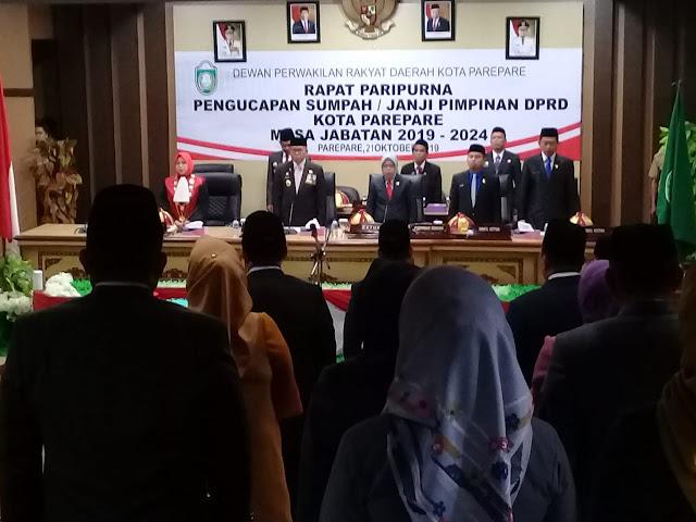 DPRD Parepare Paripurnakan Pelantikan Wakil Ketua