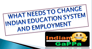 Indian Education System and Employment