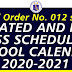 DepEd Announces the Amendments to School Calendar 2020-2021