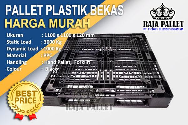 Pallet Plastik Bekas Untuk Tatakan & Pengiriman Kue Ramadan