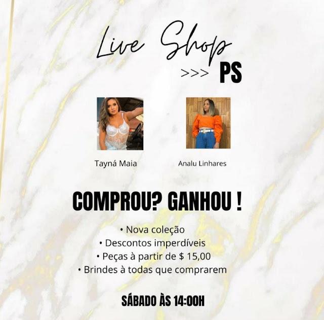 Live Shop da Puro Stillo em Caraúbas acontecerá neste sábado