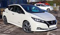 Nissan Leaf. Foto Vauxford via Wikipedia. Lisens CC by-sa 4.0