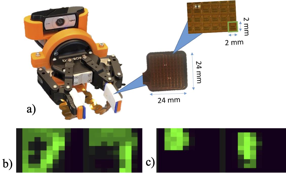 High fidelity tactile sensor array