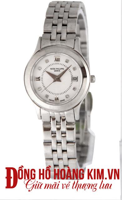đồng hồ nữ dây inox giá rẻ dưới 2 triệu Patek philippe