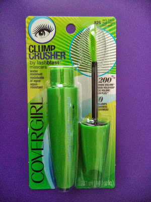 REVIEW  Covergirl Clump Crusher Water-Resistant Mascara