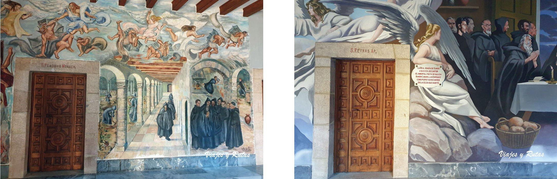 Pinturas Murales del Monasterio de Samos