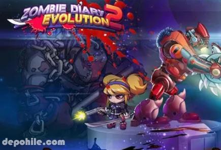 Zombie Diary 2 Evolution v1.2.4 Para Hileli Apk İndir 2020