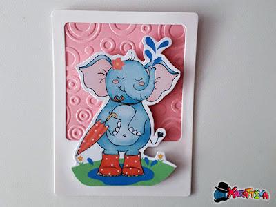 card polaroid con disegno acchiappaidee