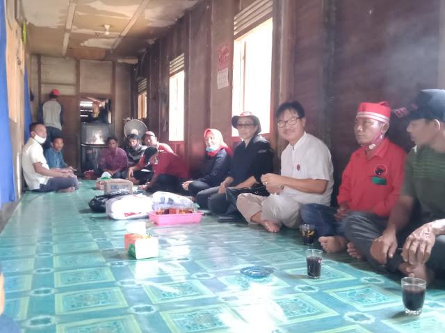 PDI - Perjuangan Barsel Ajak Pengurus Bergotong royong Menangkan Sugianto - Edy