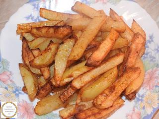 Cartofi prajiti la cuptor cu aer cald reteta,