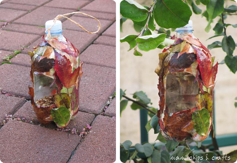 Molto mami chips & crafts: Casetta per gli uccellini da bottiglia di  GY02