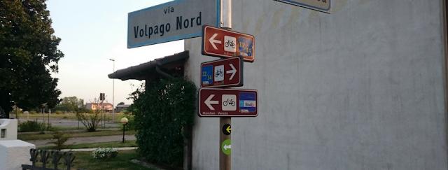 Segnali ed etichette per cicloturisti