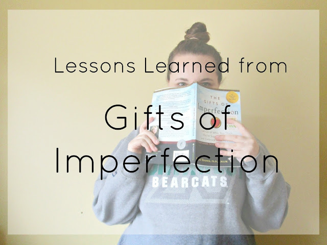 Lessons Learned from Gifts of Imperfection from Courtney's Little Things