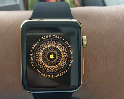 Apple Watch 18k Gold Unboxing Photos [First Impressions