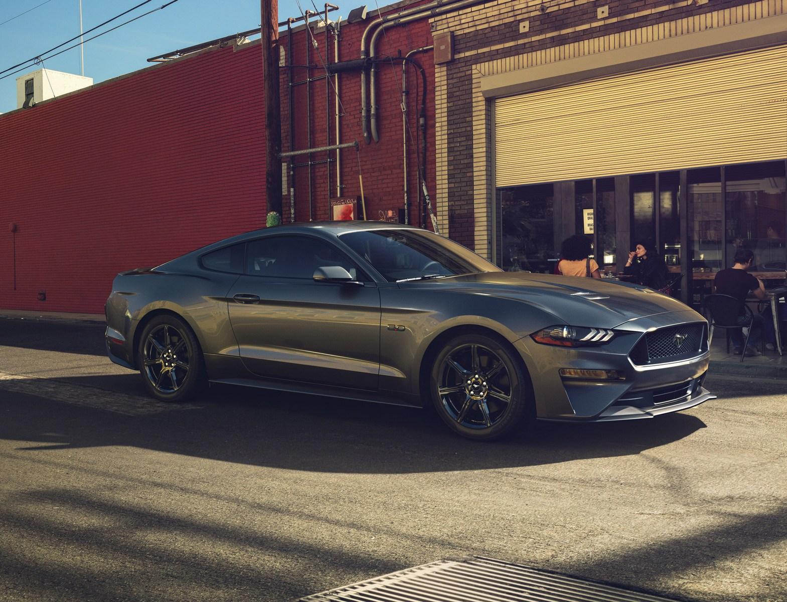 Ford mustang 2018 akan semakin efisien berkat perubahan styling