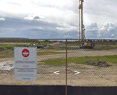 Carson landfill drilling