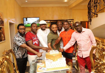This is how billionaire CEO, E-Money celebrated his birthday party (Photos)