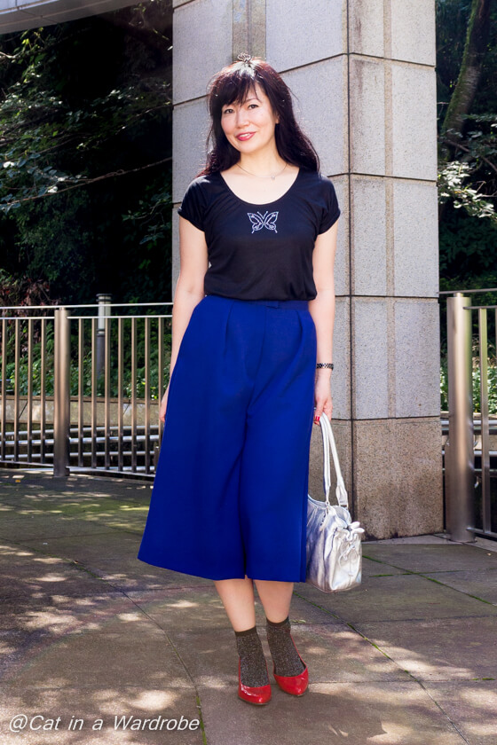 Mimosa Culottes Named Clothing Blanc Tee Blank Slate Patterns