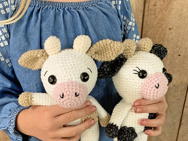 Free Mini Crochet Cow Pattern