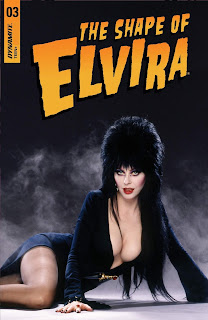 Cover D for The Shape of Elvira #3 from Dynamite Entertainment