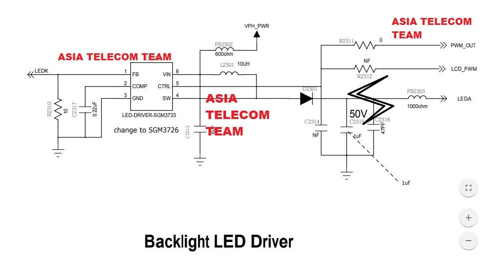 Redmi 5a Light Ways Full Circuit Diagram