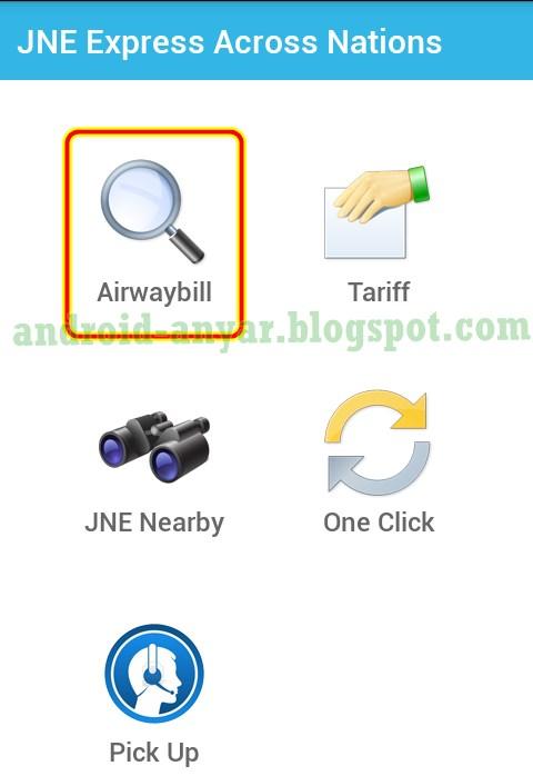 Download Aplikasi JNE for Android .APK dan Cara Cek Kiriman Paket