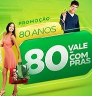Promoção ACIB Birigui 2017 80 Anos 80 Vale-Compras Cem Reais