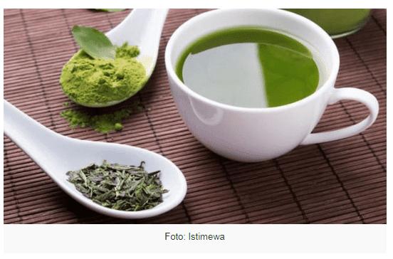 khasiat teh hijau untuk menurunkan berat badan