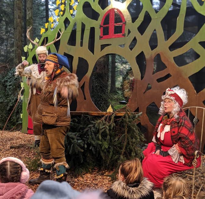 The Best Santa Experiences in North East England - Kielder Winter Wonderland