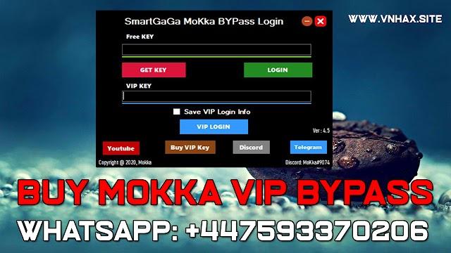 Contact Us through WhatsApp to buy Mokka bypass VIP key