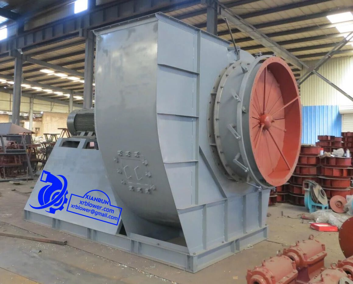 Xianrun Blower: Six Large Centrifugal Fans Functions in Power Plant ...