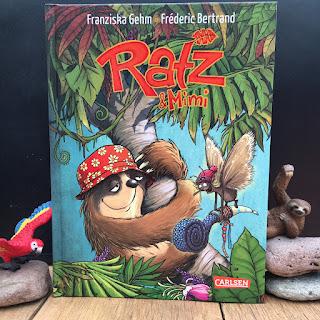 """""""Ratz & Mimi"""" von Franziska Gehm, illustriert von Fréderic Bertrand, erschienen im Carlsen Verlag"""