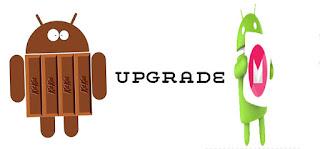 Upgrade OS Android ke Versi Lebig Tinggi