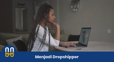 Menjadi dropshipper