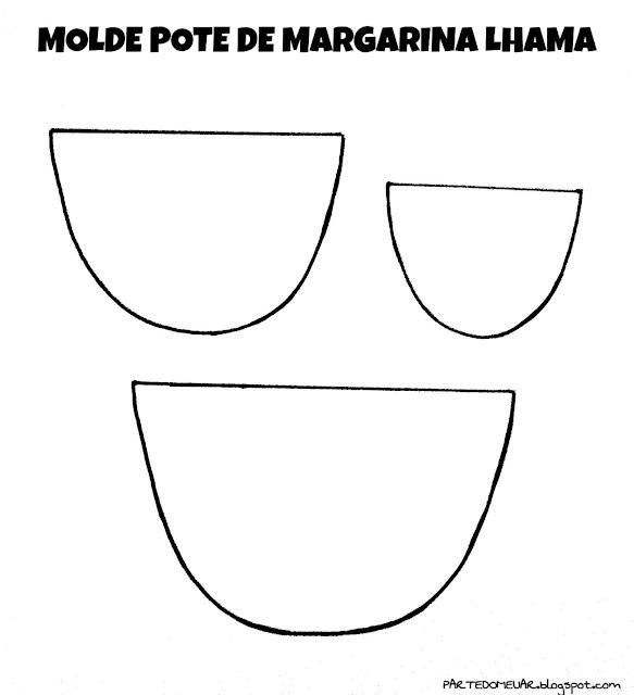 IDEIAS COM POTE DE MARGARINA