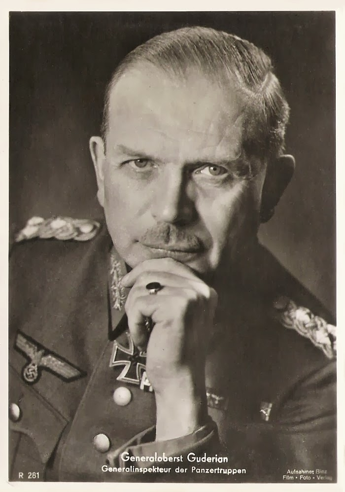 Heinz Guderian Ritterkreuzträger Knight Cross Holder Postcard